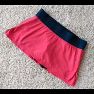 3/$20 Nike Dri Fit Pink Navy Tennis Skirt Skort M